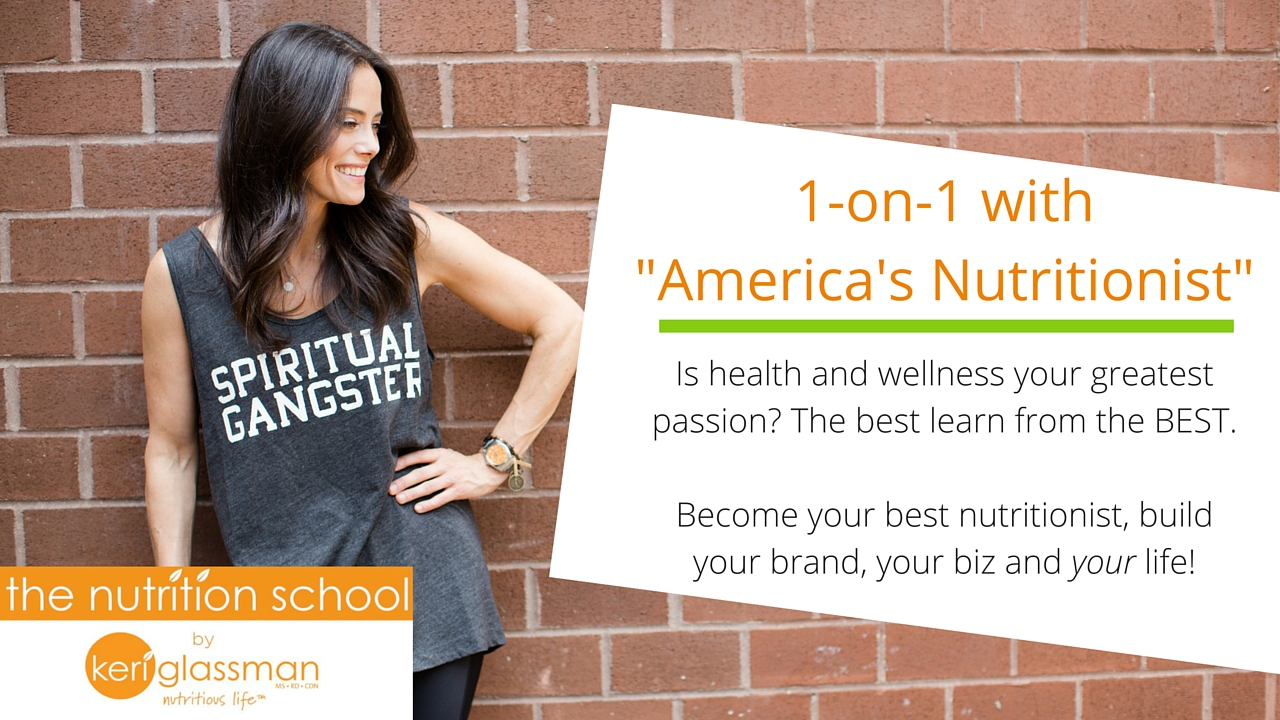 keri glassman presents the nutrition school nutritious life we can make it yours